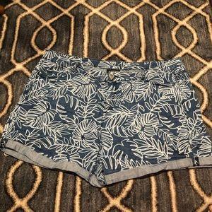 Palm Leaf Lane Bryant Shorts